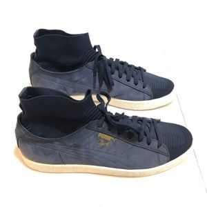 best service 38139 175b6 Puma Suede Sock Sneakers